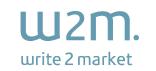 Write2Market logo