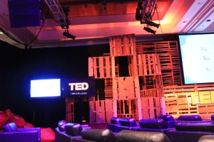 The main theater at TEDActive 2013.