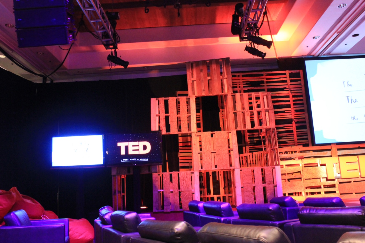 Displaying 16> Images For - Ted Talks Stage...